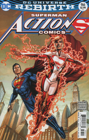 ACTION COMICS VOL 2 #966 COVER B GARY FRANK VARIANT