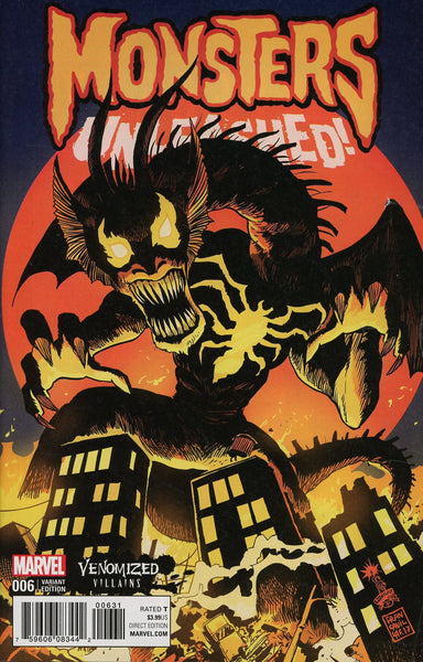 MONSTERS UNLEASHED #6 VEONOMIZED FIN FANG FOOM VAR