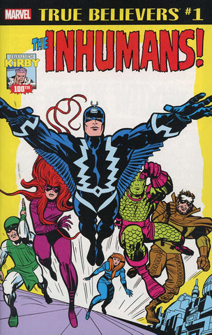 TRUE BELIEVERS KIRBY 100TH INHUMANS #1