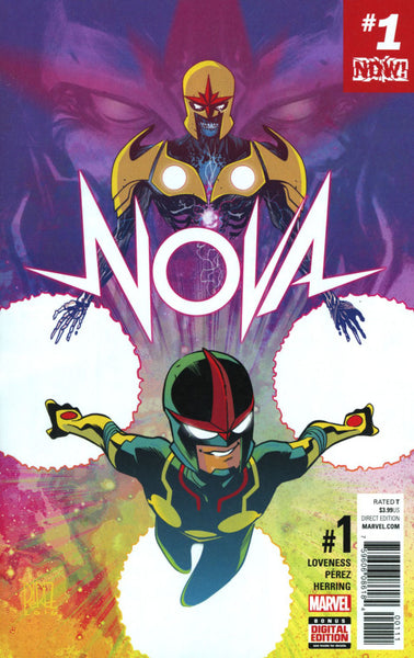 NOVA #1 VOL 7 COVER A 1st PRINT