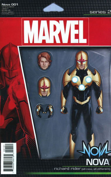 NOVA #1 VOL 7 COVER C ACTION FIGURE VARIANT