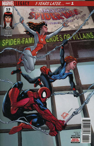 AMAZING SPIDER-MAN RENEW YOUR VOWS #13 LEG WAVE 2