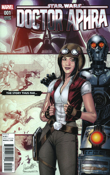 STAR WARS DOCTOR APHRA #1 COVER C STORY THUS FAR VARIANT