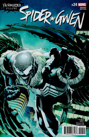 SPIDER-GWEN #24 VENOMIZED VULTURE VAR