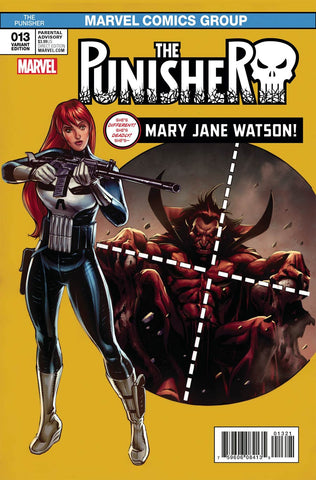 PUNISHER #13 WILLIAMS MARY JANE VAR