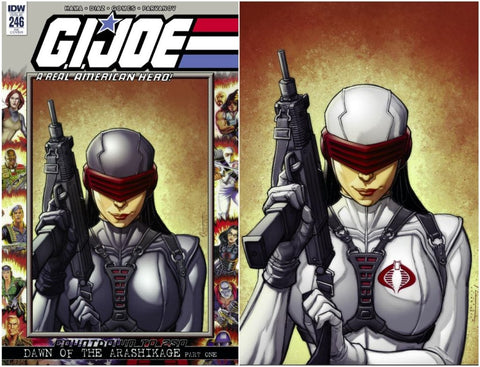 GI JOE A REAL AMERICAN HERO #246 KRS CHAD HARDIN EXCLUSIVE 2 PACK