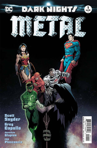 DF DARK NIGHTS METAL #1 CAPPULO SIGNED