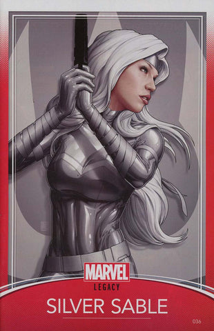 SILVER SABLE WILD PACK #36 CHRISTOPHER TRADING CARD VAR LEG