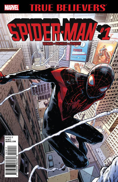 TRUE BELIEVERS MILES MORALES SPIDER-MAN #1