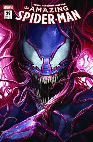 AMAZING SPIDER-MAN #29 MARY JANE VENOM FRANCESCO MATTINA CVR A