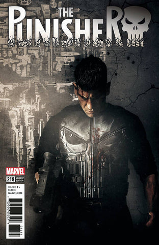 PUNISHER #218 TV VAR LEG