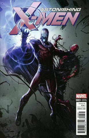 ASTONISHING X-MEN #3 VENOMIZED MAGNETO VAR
