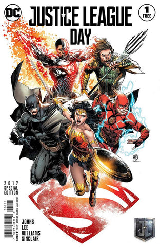 JUSTICE LEAGUE DAY #1 SPECIAL EDITION - LIMIT 1 PER