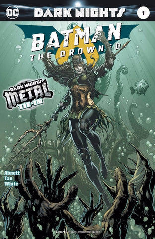 BATMAN THE DROWNED #1 (METAL) FOIL STAMPED COVER