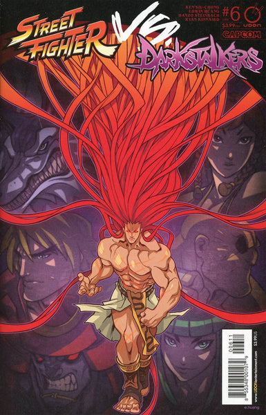 STREET FIGHTER VS DARKSTALKERS #6 (OF 8) CVR A HUANG
