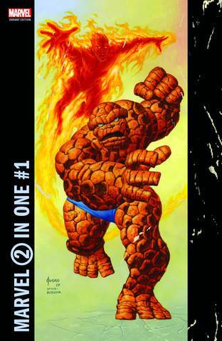 MARVEL TWO-IN-ONE #1 LEG SANCTUM SANCTORUM EXCLUSIVE JOE JUSKO CORNER BOX