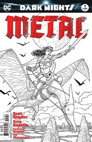 DARK NIGHTS METAL #1 (OF 6) FRIED PIE B&W EXCLUSIVE