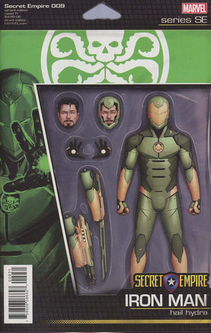 SECRET EMPIRE #9 (OF 10) CHRISTOPHER ACTION FIGURE