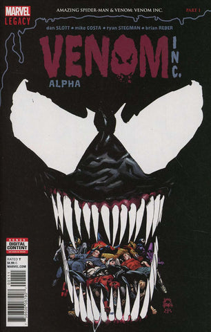 AMAZING SPIDER-MAN/VENOM VENOM INC ALPHA #1 LEG