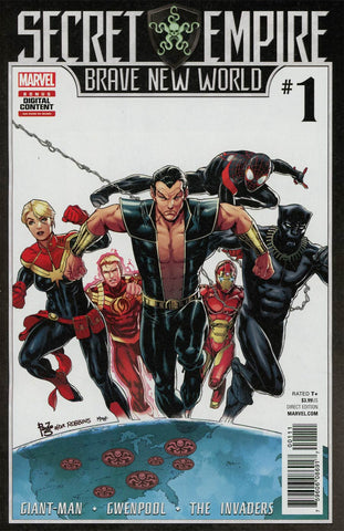 SECRET EMPIRE BRAVE NEW WORLD #1 (OF 5) SE