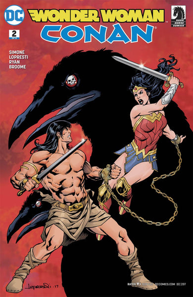 WONDER WOMAN CONAN #2 (OF 6) VAR ED