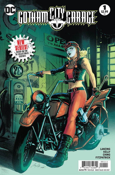 GOTHAM CITY GARAGE #1