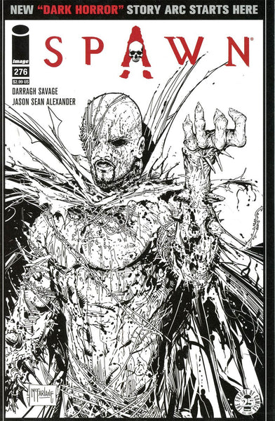 SPAWN #276 CVR C IMAGES OF TOMORROW VARIANT