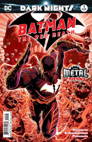 BATMAN THE RED DEATH #1 METAL 3RD PTG