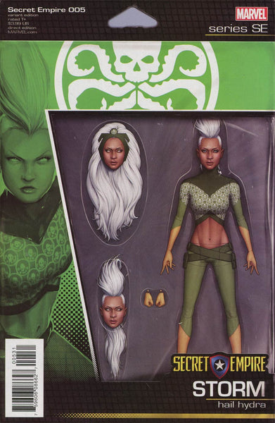SECRET EMPIRE #5 (OF 9) CHRISTOPHER ACTION FIGURE VAR