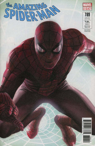 AMAZING SPIDER-MAN #789 2ND PTG ALEX ROSS VAR LEG