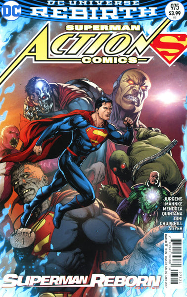 ACTION COMICS VOL 2 #976 GARY FRANK VARIANT
