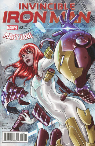 INVINCIBLE IRON MAN #8 CHECCETTO MARY JANE VAR
