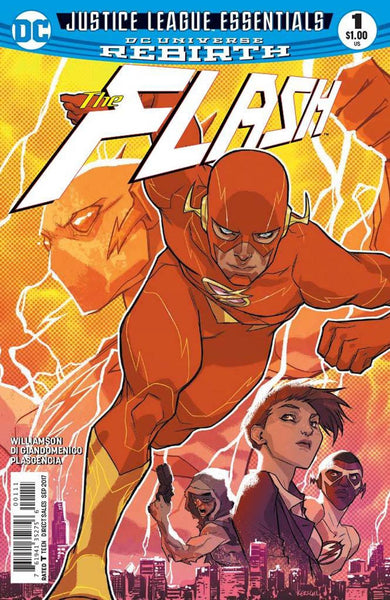 DC JUSTICE LEAGUE ESSENTIALS FLASH #1 REBIRTH