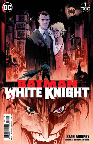 BATMAN WHITE KNIGHT #1 (OF 8) 2ND PTG