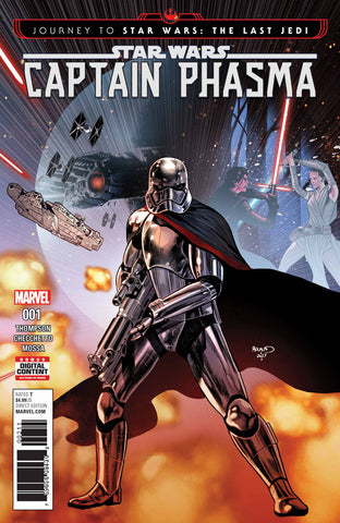 JOURNEY STAR WARS LAST JEDI CAPT PHASMA #1 (OF 4)