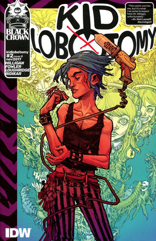KID LOBOTOMY #2 CVR B CANETE (MR)