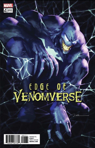 EDGE OF VENOMVERSE #1 COMIC ELITE GEORGE PARNELL EXCLUSIVE
