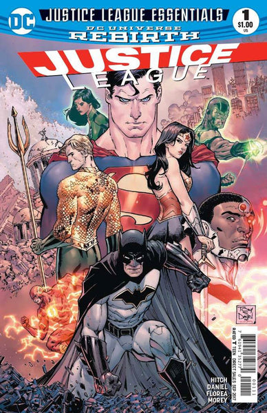 DC JUSTICE LEAGUE ESSENTIALS JUSTICE LEAGUE #1 REBIRTH