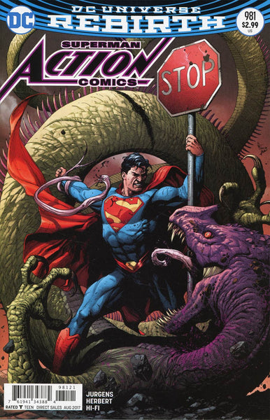 ACTION COMICS #981 VAR ED