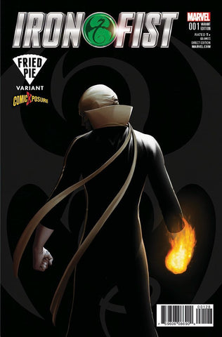 IRON FIST VOL 5 #1 COMICXPOSURE JOHN TYLER CHRISTOPHER EXCLUSIVE VARIANT
