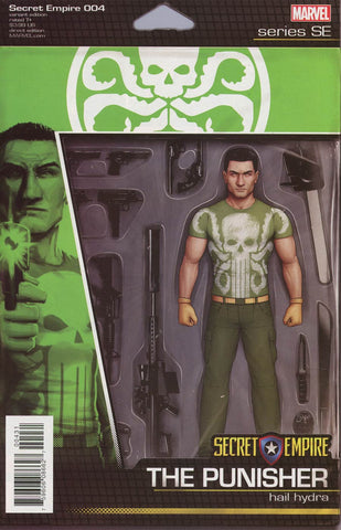 SECRET EMPIRE #4 (OF 9) CHRISTOPHER ACTION FIGURE VAR