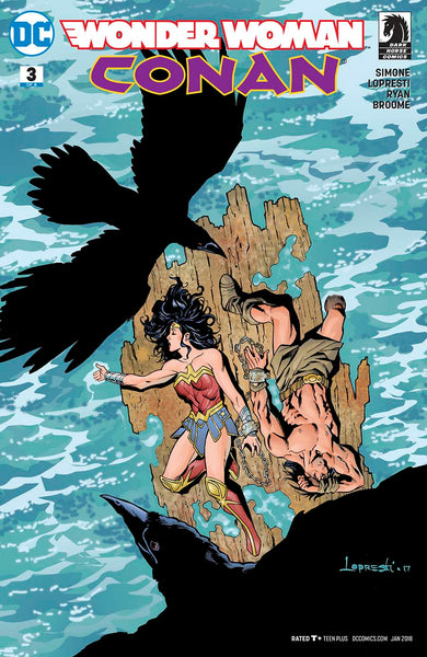 WONDER WOMAN CONAN #3 (OF 6) VAR ED