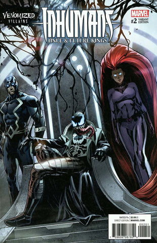 INHUMANS ONCE FUTURE KINGS #2 (OF 5) VENOMIZED VAR