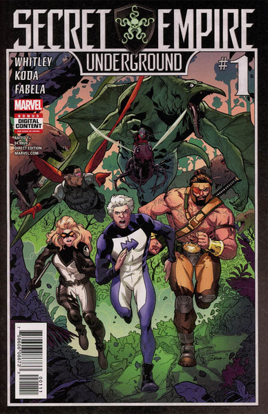 SECRET EMPIRE UNDERGROUND #1 SE