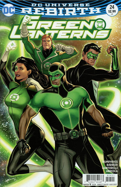 GREEN LANTERNS #24 VAR ED