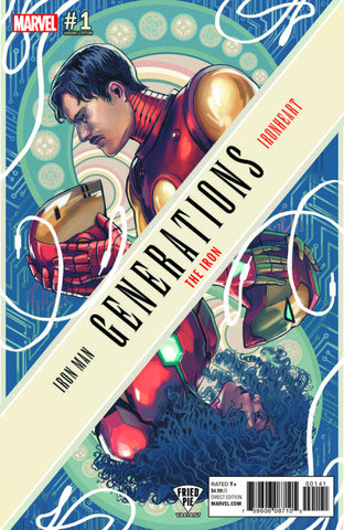 GENERATIONS IRON MAN & IRONHEART #1 FRIED PIE EXCLUSIVE