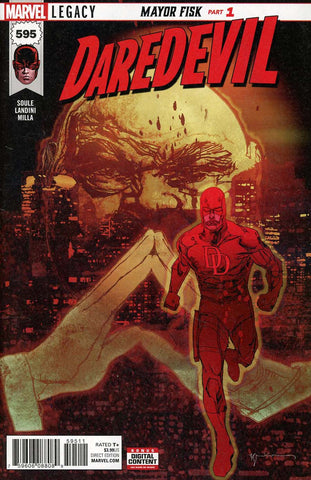 DAREDEVIL #595 LEG WAVE 2