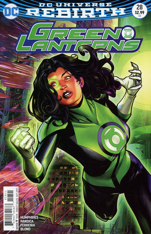GREEN LANTERNS #28 VAR ED