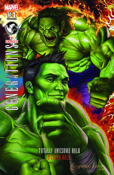 GENERATIONS BANNER HULK & TOTALLY AWESOME HULK #1 UNKNOWN GREG HORN