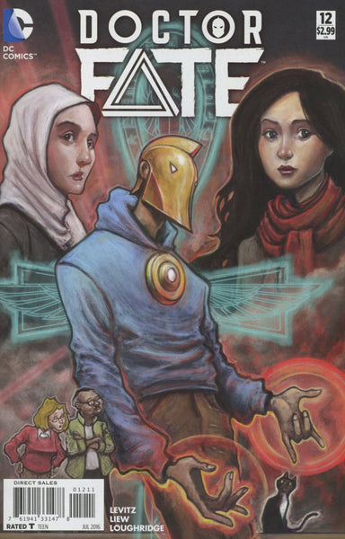 DOCTOR FATE VOL 4 #12 1st PRINT COVER